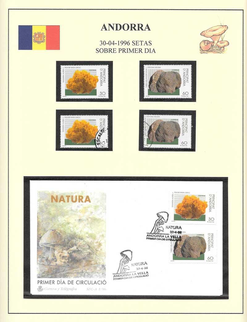 4 sellos y un sobre