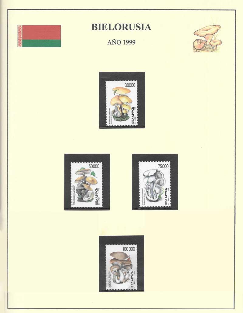 sellos setas Bielorrusia