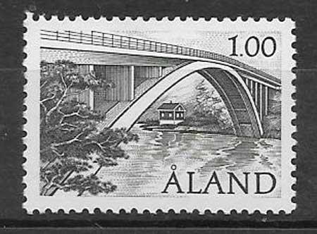 Sellos colección puente Aland 1987