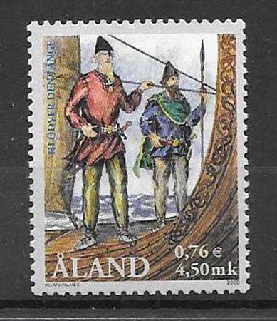 sello barco Aland 2000