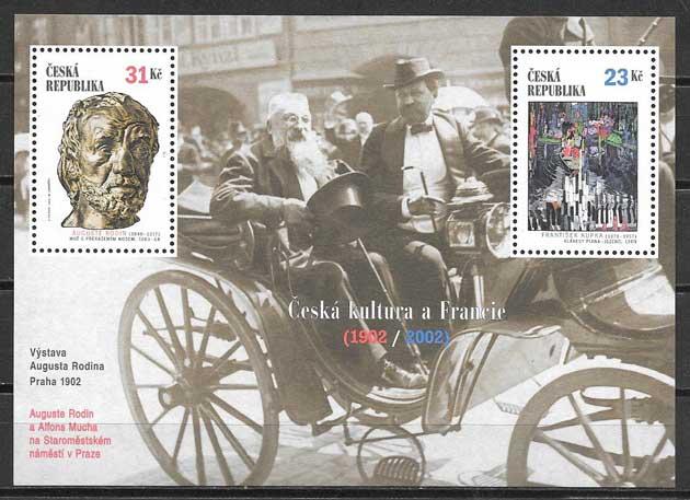 sellos Chequia cultura 2002