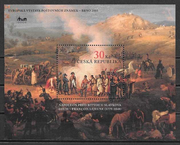 sellos Chequia 2005 Expo Filatelica