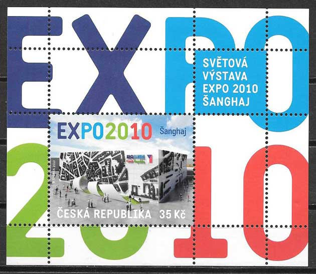 Filatelia Expo China Chequia 2010