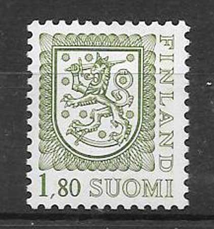 sellos escudo finlandia 1988