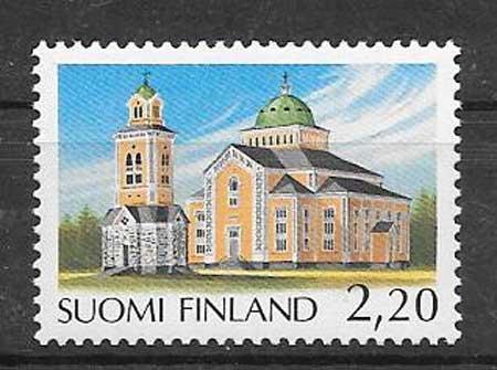 sellos iglesia Finlandia 1988