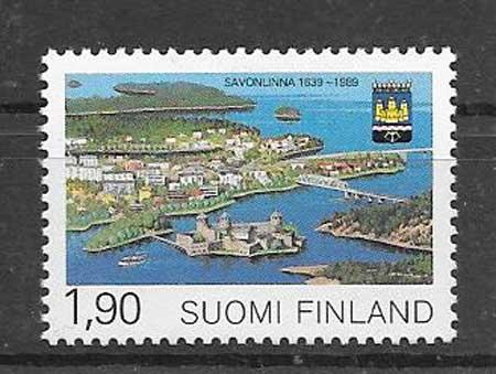 Filatelia villas Finlandia 1989