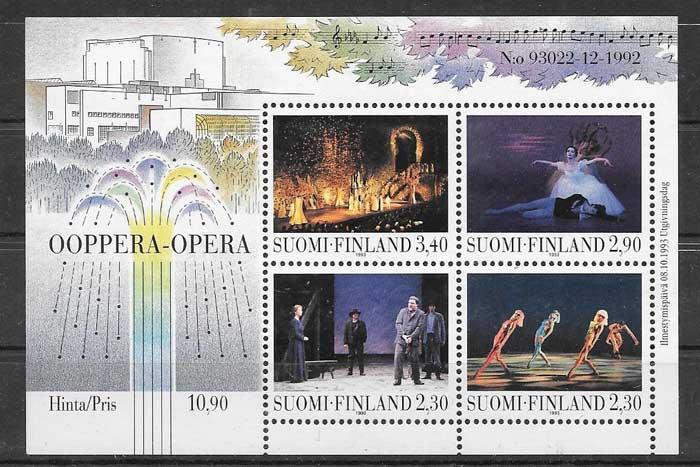 Sellos Finlandia 1993 öpera