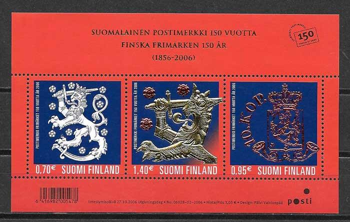 Filatelia primeros sellos Finlandia 2006