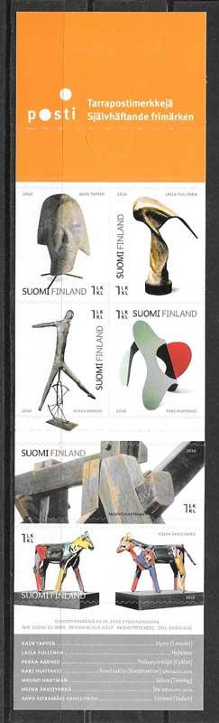 Sellos arte finlandés 2010