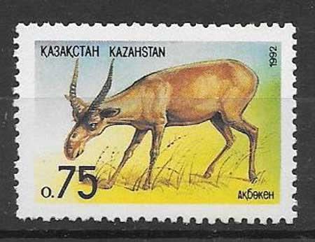 sellos fauna Kazastán 1992