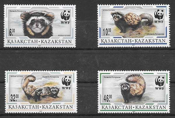 sellos fauna wwf Kazastán 1997