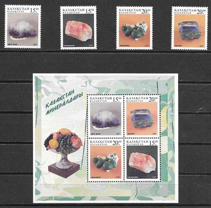 sellos minerales Kazastán 1997