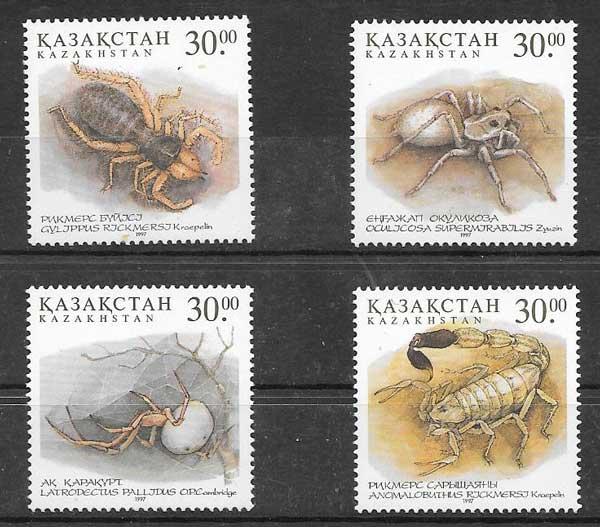 sellos fauna Kazastán 1997