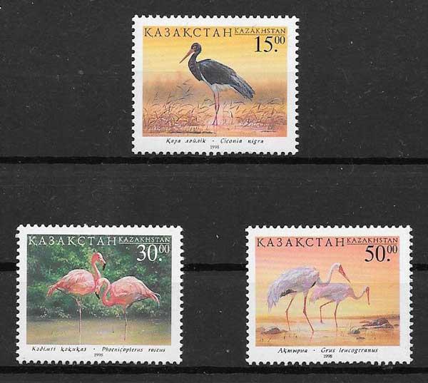 sellos aves Kazastán 1998