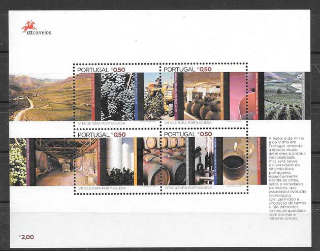 sellos vinos Portugal 2004