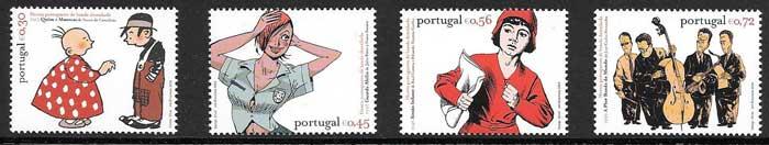 sellos colección colección Portugal 2004