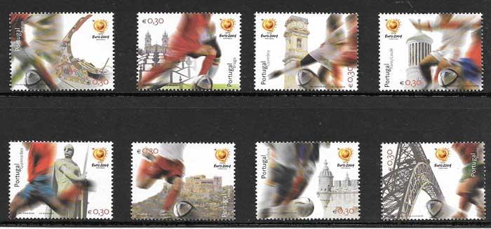sellos deporte Portugal 2004