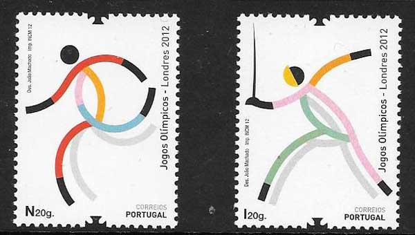 Sellos deporte Portugal 2012