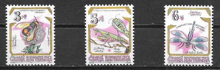 sellos fauna Tchequia 1995