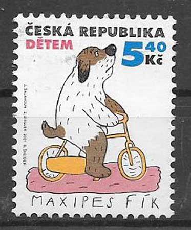 Filatelia comic Tchequia 2001