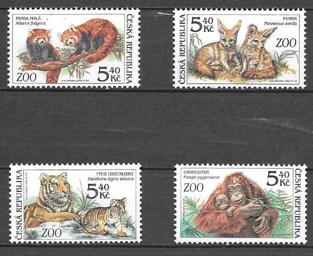 sellos fauna Chequia 2001