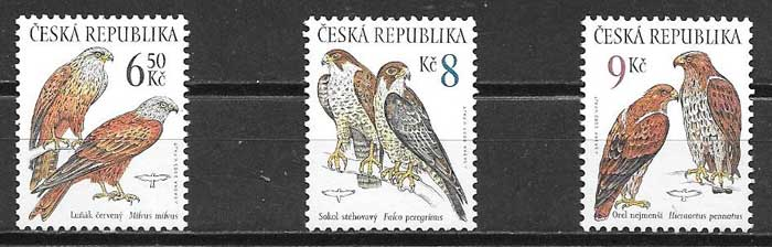 sellos fauna 2003 Chequia 2003