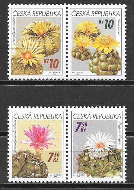 Sellos flora Chequia 2006