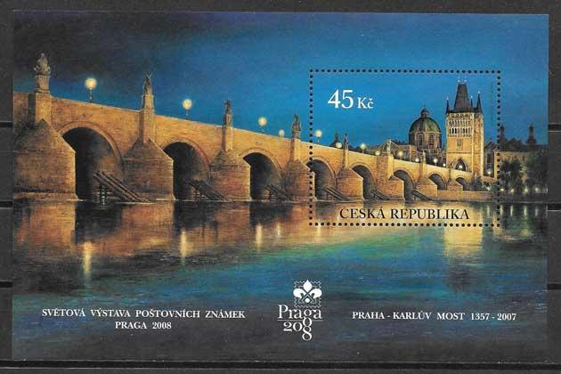 Sellos puente Praga 2007