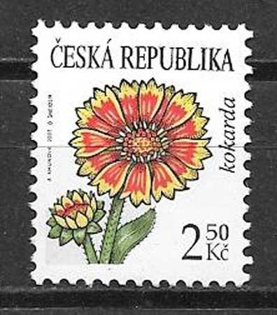 Filatelia flora Chequia 2007