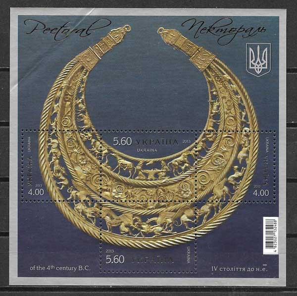 Sellos patrimonio Ucrania 2013