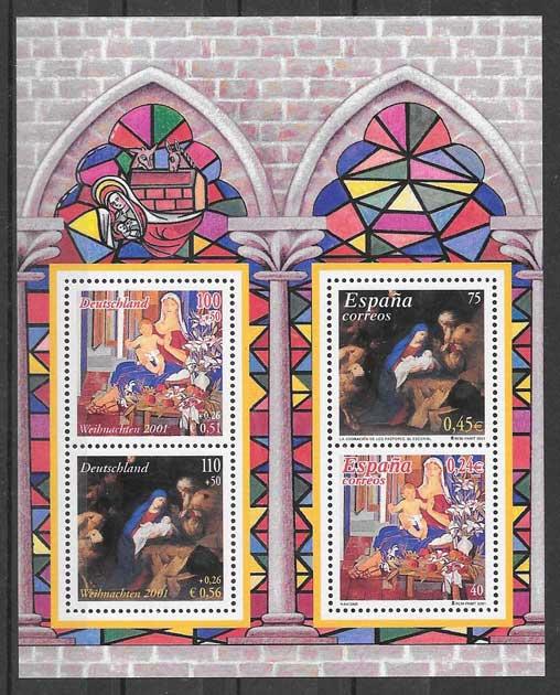 sellos Emisión Conjunta Alemania 2001