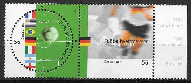 colección sellos Emisión Conjunta Alemania 2002