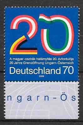 sellos emisiones conjuntas Alemania 2009