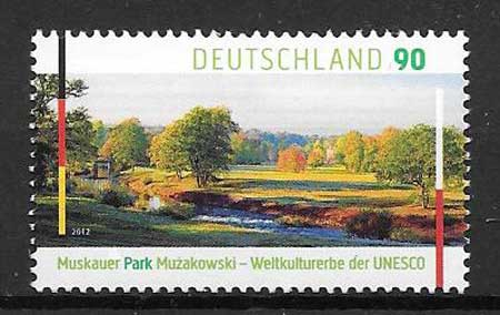 sellos Emsión Conjunta Alemania 2012