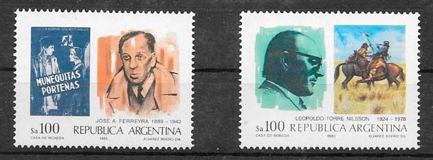 sellos cine argentina 1985