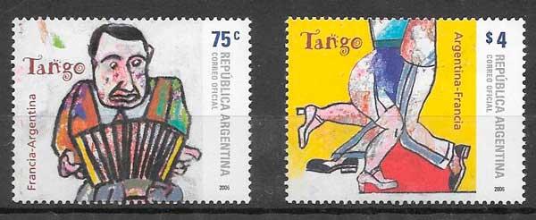 sellos emisiones conjuntas 2006 Argentina