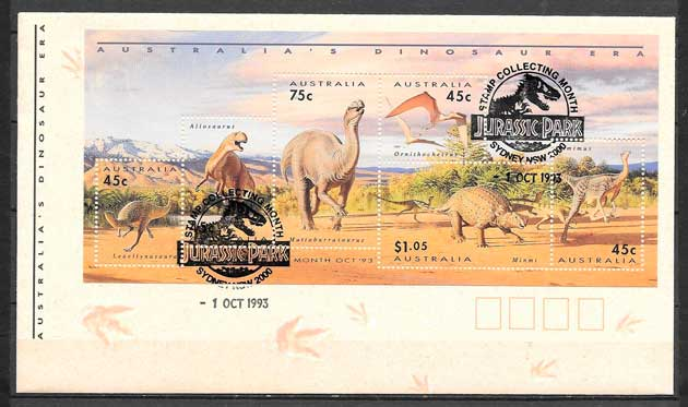 sellos cine Australia 1993