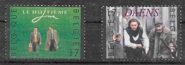 filatelia cine Bélgica 1998