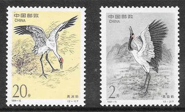 sellos Emisión Conjunta China 1994