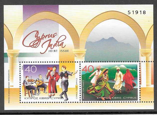 sellos emisiones conjuntas Chipre 2006