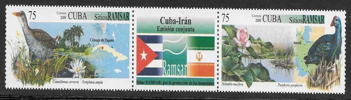 sellos Emisión Conjunta Cuba 2008