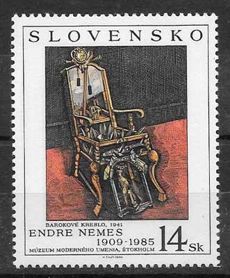 Filatelia Emisión Conjunta Eslovaquia