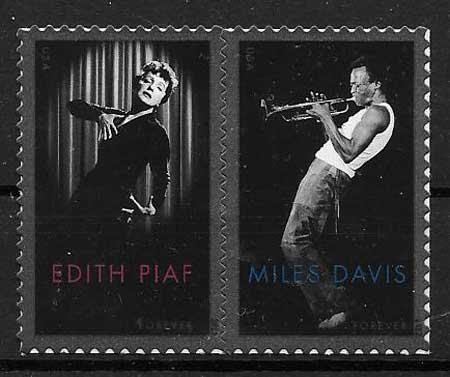 colección sellos USA 2012