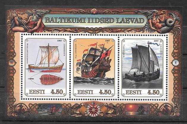 sellos Emisión Conjunta Letonia 1997
