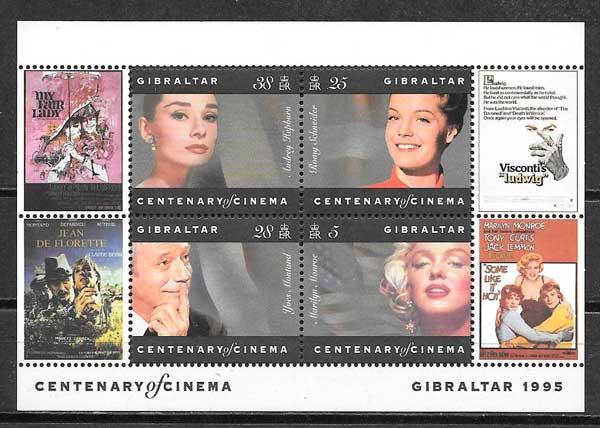 filatelia sellos Gibraltar 1995