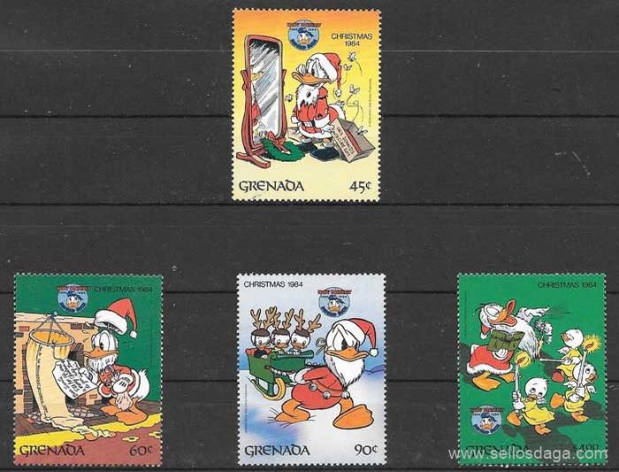 sellos Disney 1984 Grenada