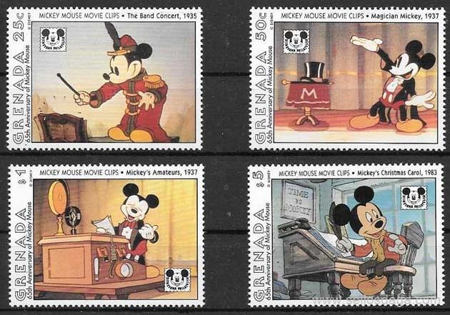 filatelia Disney Grenada 1993