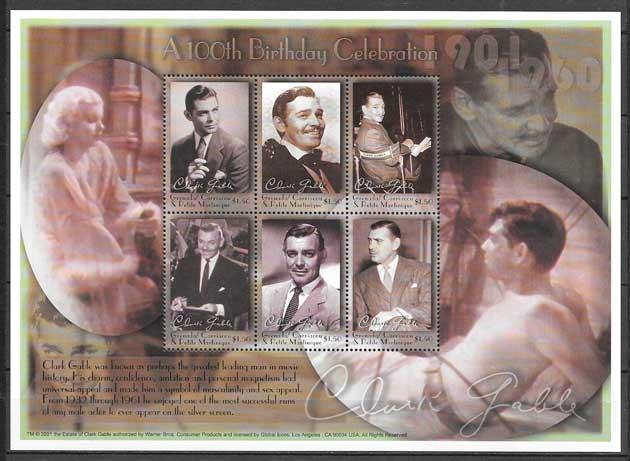 sellos cine Granadinas 2001