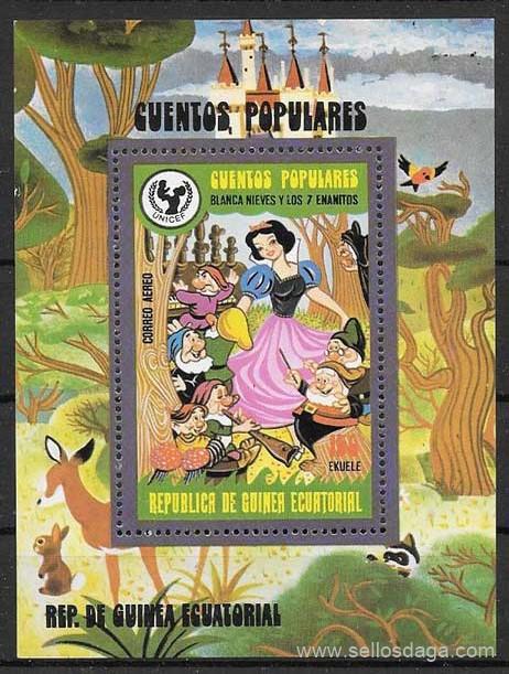 sellos Disney Guinea Ecuatorial