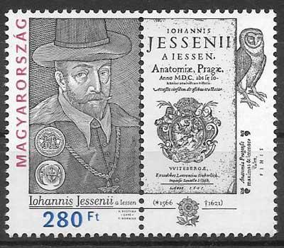 sellos filatelia emisiones conjunta Hungría 2016